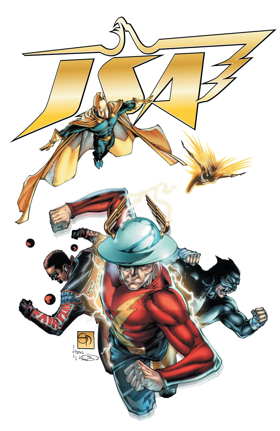 DC Icon Covers JSA-47