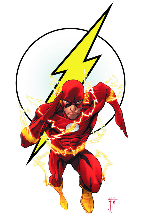 DC Icon Covers flash-101