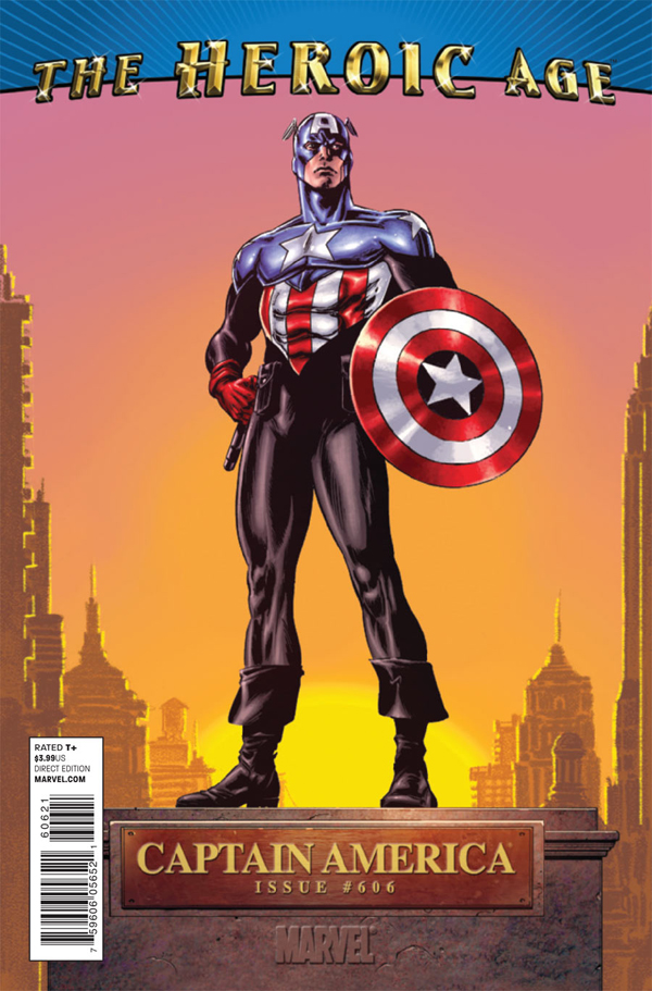 Marvel The Heroic Age Captain America 0606 the heroic age