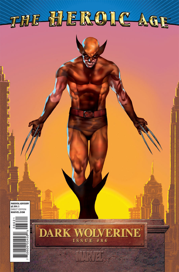 Marvel The Heroic Age Dark Wolverine 0086 the heroic age