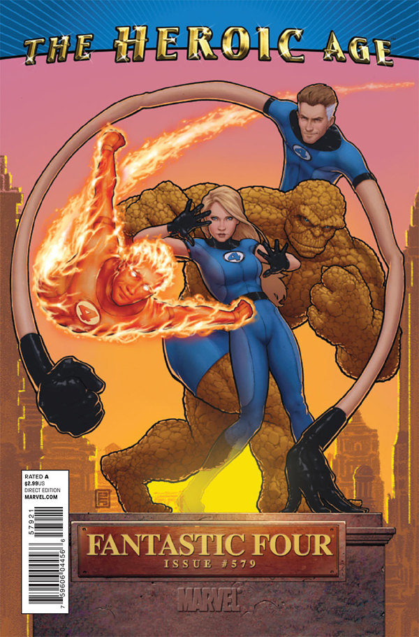 Marvel The Heroic Age Fantastic Four 0579 the heroic age