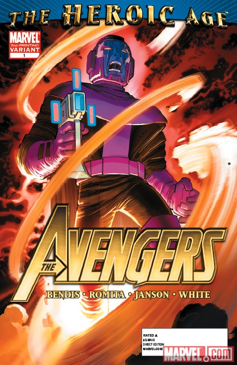 Marvel The Heroic Age The Avengers 0001 the heroic age