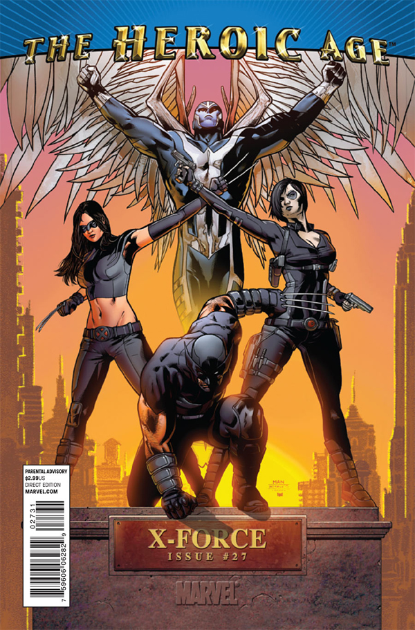 Marvel The Heroic Age X-force 0027 the heroic age