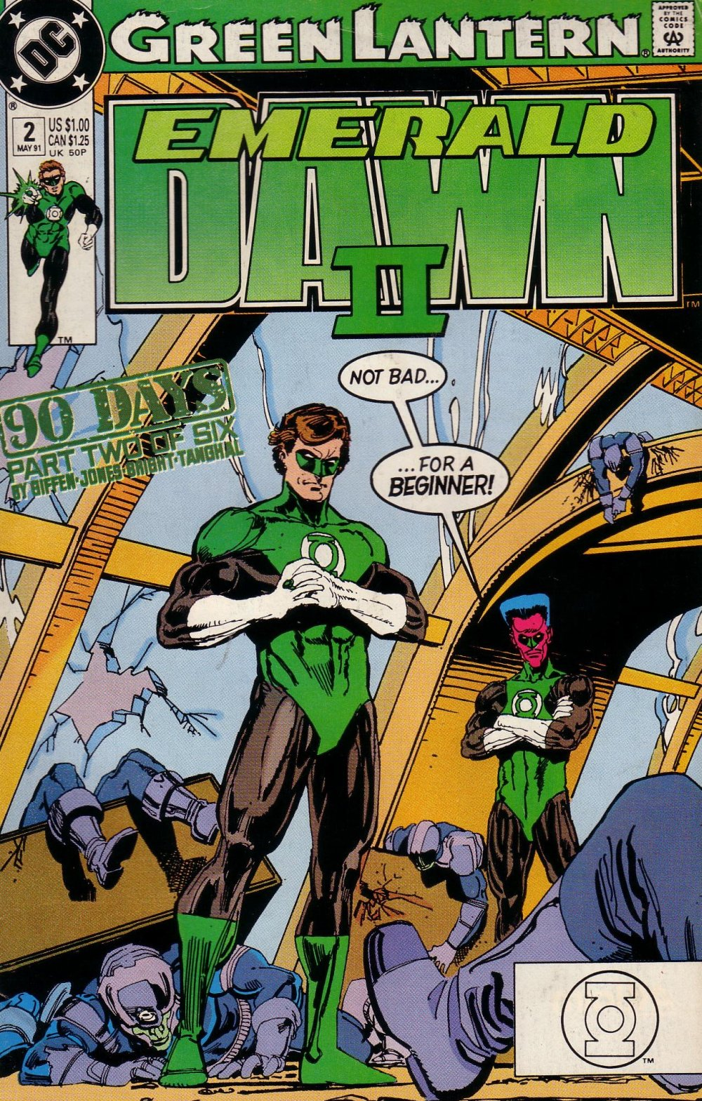 Green Lantern- Emerald Dawn 2 [DC] Mini 1 0002.JPG