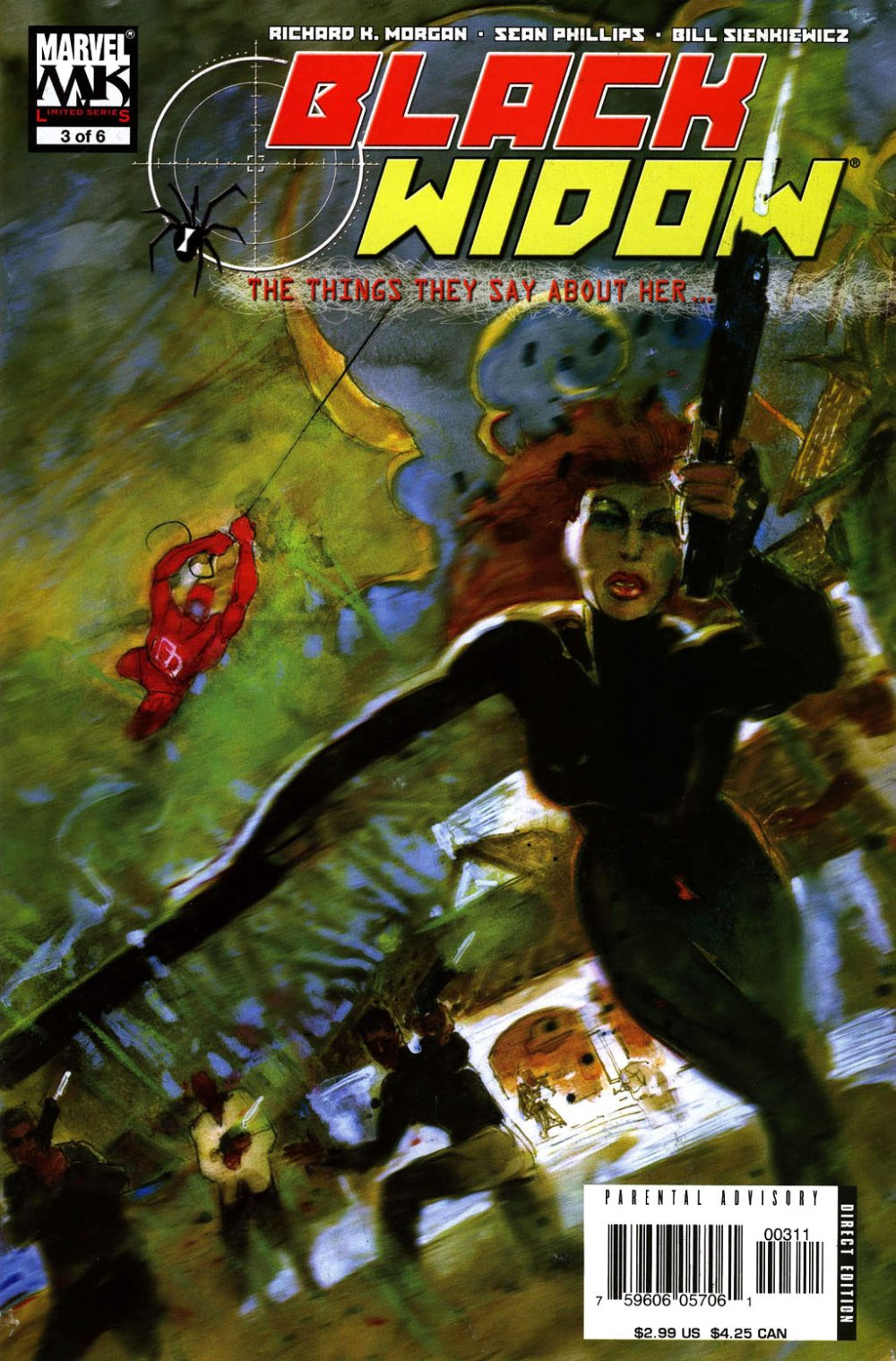Black Widow- The Things They Say About Her [Marvel] Mini 1 0003.JPG