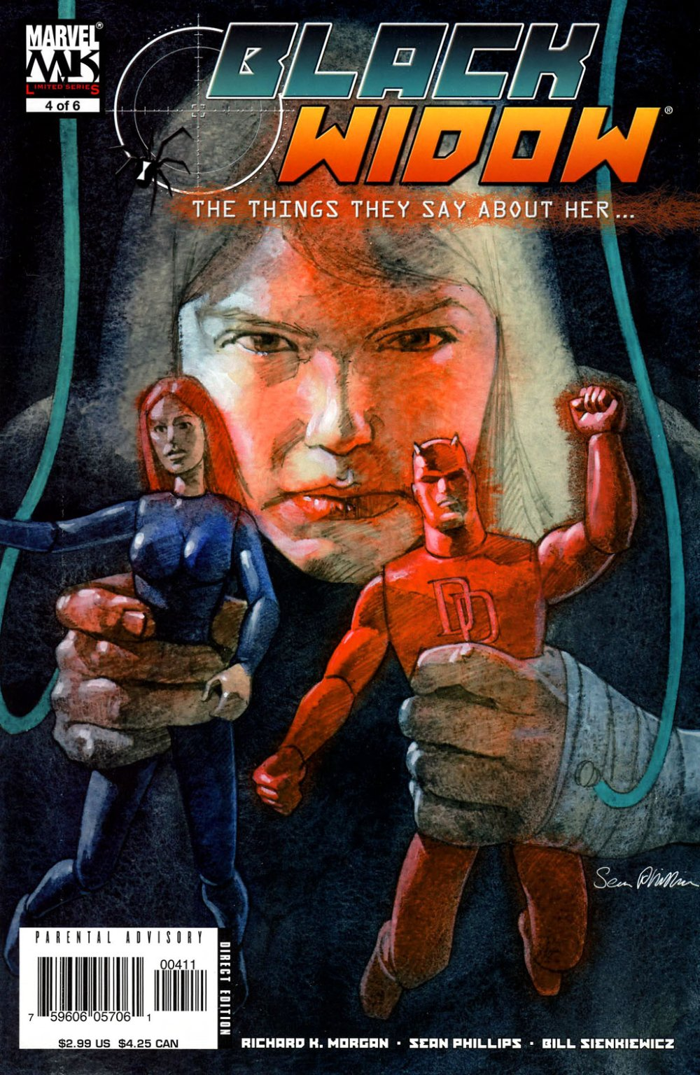 Black Widow- The Things They Say About Her [Marvel] Mini 1 0004.JPG