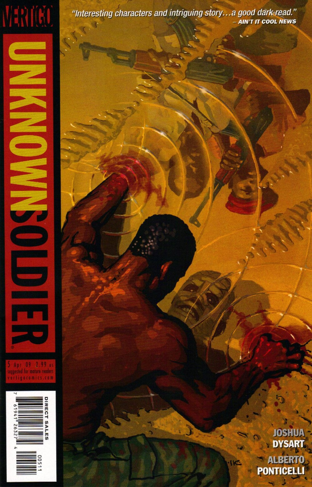 Unknown Soldier [DC Vertigo] Mini 2 0005.JPG