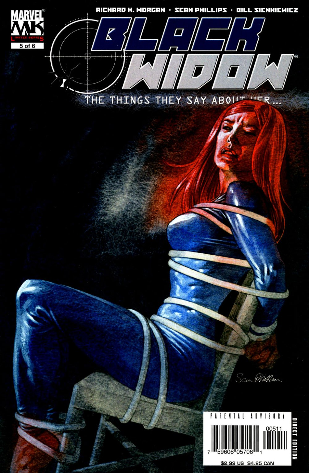 Black Widow- The Things They Say About Her [Marvel] Mini 1 0005.JPG