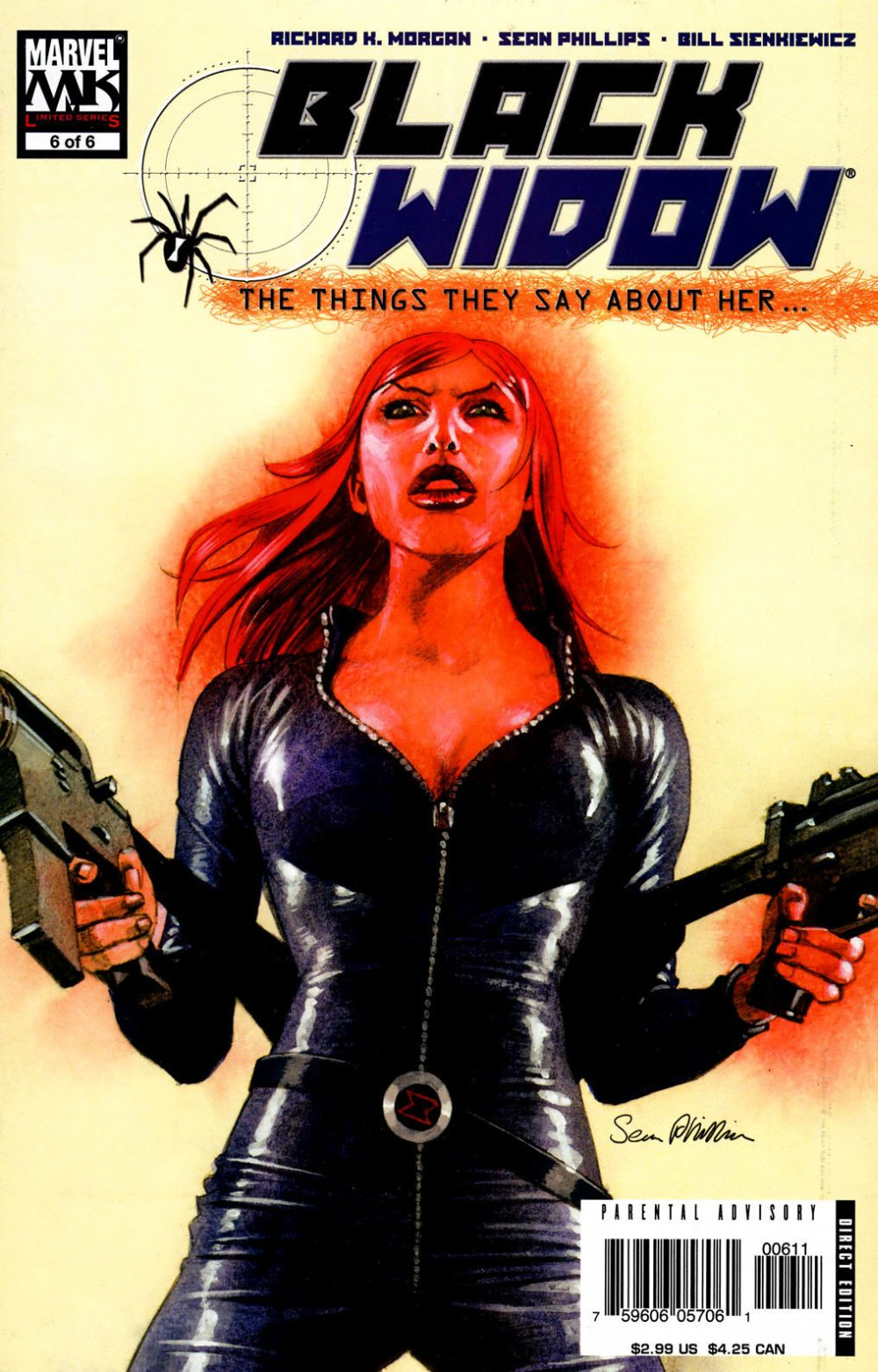 Black Widow- The Things They Say About Her [Marvel] Mini 1 0006.JPG