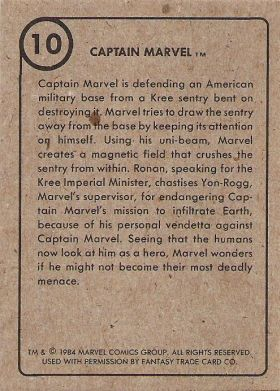 Marvel Super Heroes 1st Issue Covers 1984 Card Set 0010b.jpg