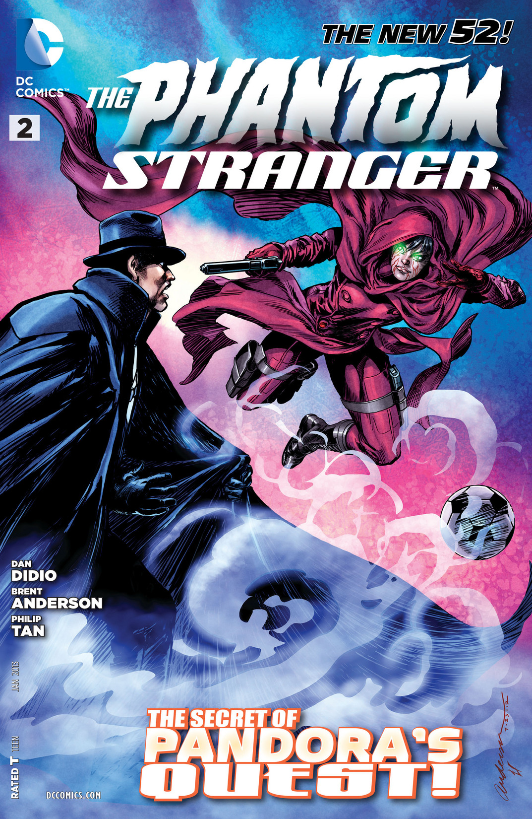 Trinity of Sin : The Phantom Stranger 0002