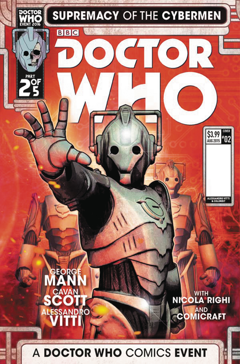 Doctor Who: Supremacy Of The Cybermen 0002