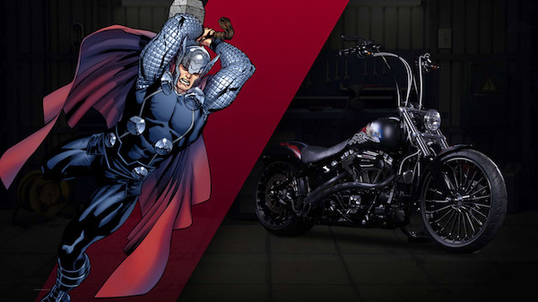 27 custom Marvel motorcycles harley-custom-thor