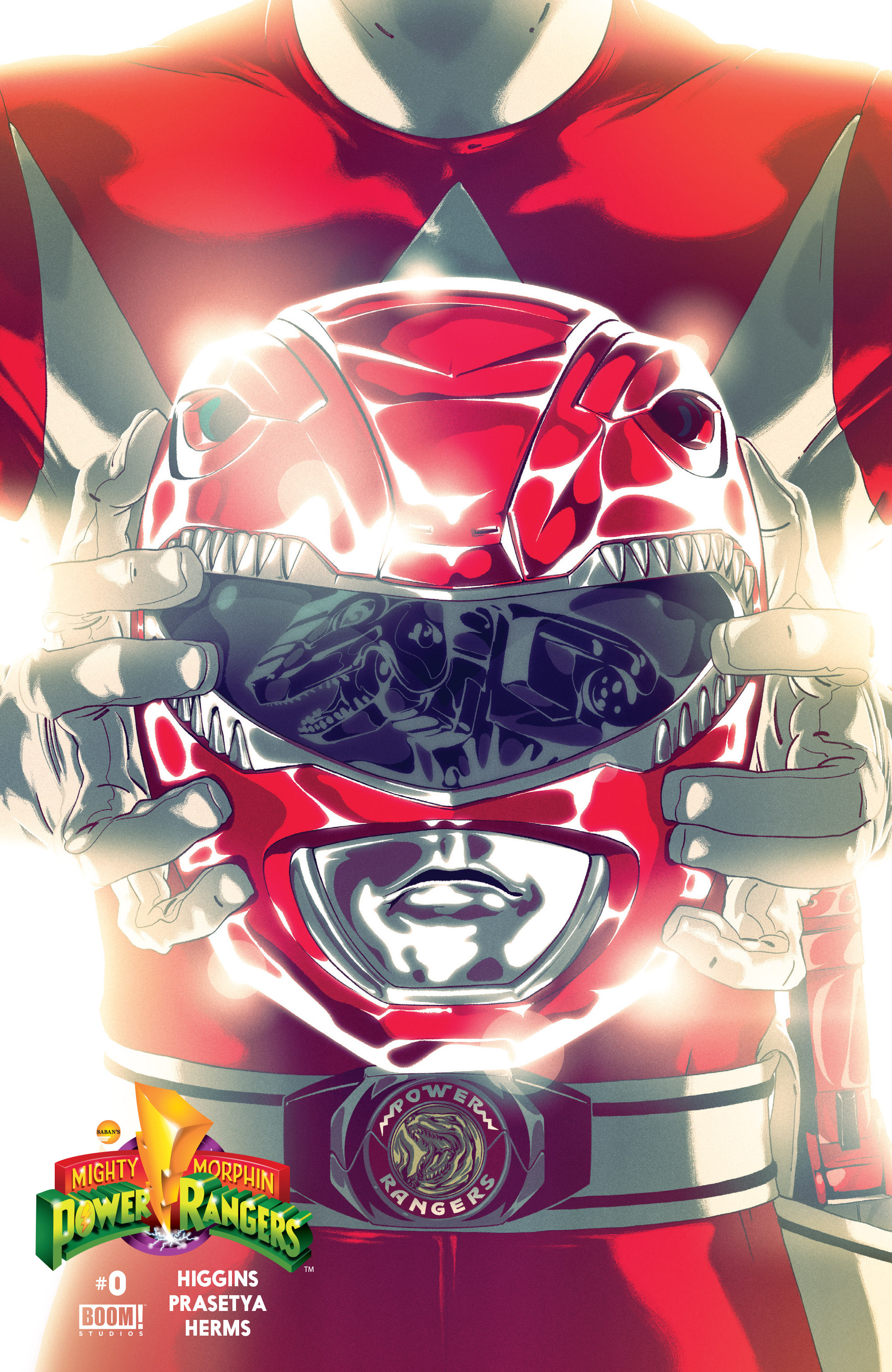 Mighty Morphin Power Rangers 0000-red
