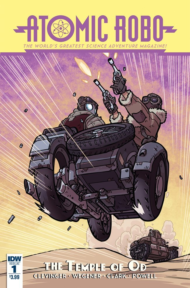 Atomic Robo: The Temple of Od 0001