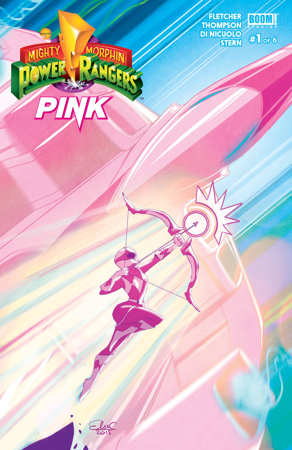 Mighty Morphin Power Rangers: Pink 0001a