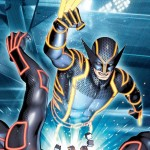 WOLVERINE 0004 TRON VARIANT by Brandon Peterson