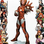 The Invincible Iron man 0029 Women of Marvel