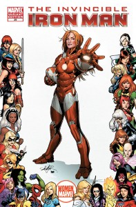 The Invincible Iron man 0029 Women of Marvel 197x300 Women of Marvel