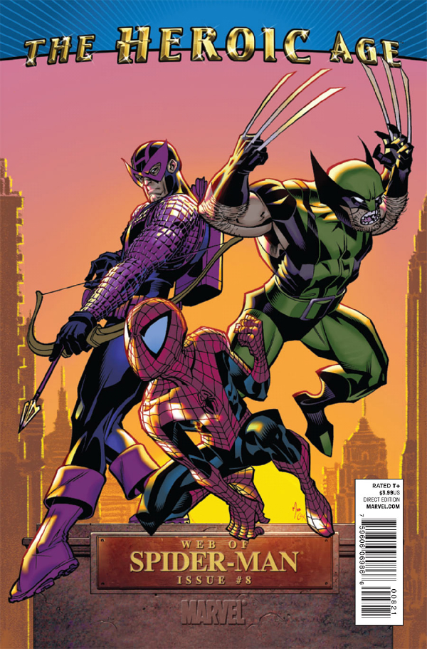 Web Of Spider Man 0008 The Heroic Age Comiccovers