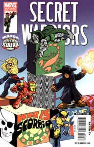 secret warriors 0009 SuperHero Squad Variant 192x300 Superhero Squad Varient Covers