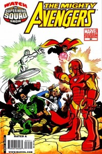the mighty avengers 0030 SuperHero Squad Variant 199x300 Superhero Squad Varient Covers