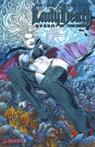 0000 platinum foil 194x300 Lady Death  Queen of The Dead [Avatar] OS1