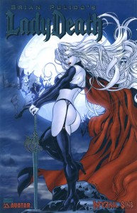 0000 platinum foil 2 193x300 Lady Death  Infernal Sins [Avatar] Mini 1