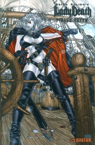 0000 platinum foil 3 196x300 Lady Death  Pirate Queen [Avatar] Mini 1