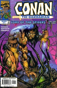 0001 1150 195x300 Conan  The Barbarian  Lord Of The Spiders [Marvel] Mini 1