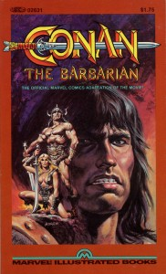 0001 1183 182x300 Conan  The Barbarian  Offical Marvel Comics Adaptation of the Movie [Marvel] OS1