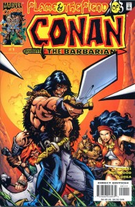0001 1273 197x300 Conan  The Barbarian  Flame And The Fiend [Marvel] Mini 1
