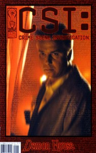 0001 1291 190x300 Csi  Crime Scene Investigation  Demon House [IDW] Mini 1