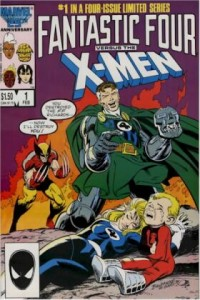 0001 2012 200x300 Fantastic Four Vs X Men [Marvel] Mini 1