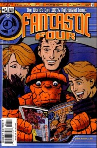 0001 2043 198x300 Fantastic Four  The Worlds Only 100 Percent Authorized Comic [Marvel] Mini 1