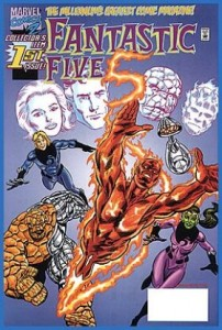 0001 2047 202x300 Fantastic Five [Marvel] V1