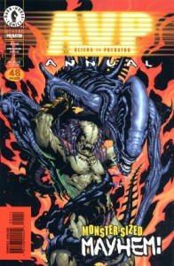 0001 223 196x300 Aliens Vs Predator  Annual [Dark Horse] OS1