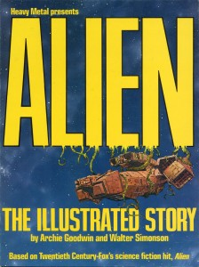 0001 234 224x300 Alien  The Illustrated Story [UNKNOWN] V1