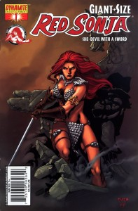 0001 2342 197x300 Giant Size Red Sonja  She Devil With A Sword [Dynamite] OS1