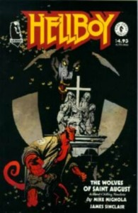 0001 2644 195x300 Hellboy  The Wolves of St August [Dark Horse Legend] Mini 1