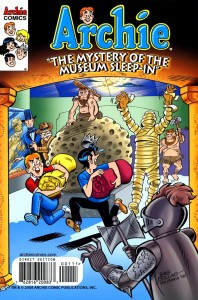 0001 317 198x300 Archie   The Mystery of the Museum Sleep In [Archie] OS1