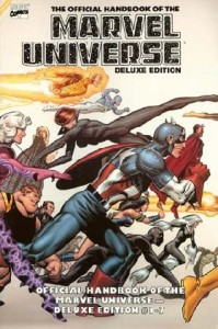 0001 3975 199x300 Official Handbook Of The Marvel Universe  Deluxe Edition [Marvel] Mini 1