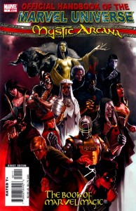 0001 3990 194x300 Official Handbook Of The Marvel Universe  Mystic Arcana   The Book Of Marvel Magic [Marvel] OS1