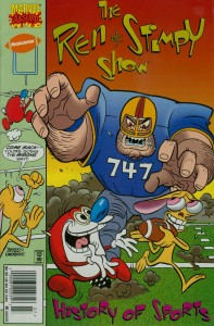0001 4381 197x300 Ren And Stimpy  History Of Sports [Marvel] OS1