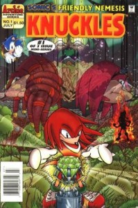 0001 4875 199x300 Sonics Friendly Nemesis  Knuckles [Archie Adventure] Mini 1