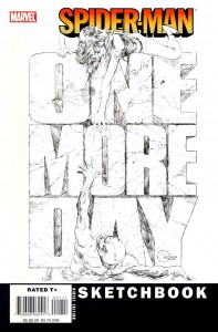 0001 4983 197x300 Spider Man  One More Day Sketchbook [Marvel] OS1