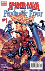 0001 5014 191x300 Spider Man  And The Fantastic Four [Marvel] Mini 1