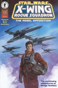 0001 5199 197x300 Star Wars  X Wing  Rogue Squadron  The Rebel Opposition [Dark Horse] Mini 1
