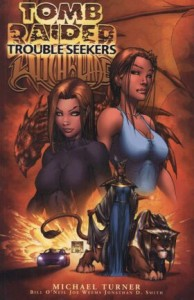 0001 5685 194x300 Tomb Raider  Witchblade  Trouble Seekers [Image Top Cow] V1