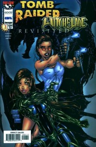 0001 5801 196x300 Tomb Raider  Witchblade  Revisted [Image Top Cow] OS1